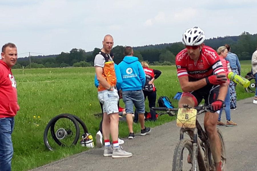 Christoph Soukup mit starker Leistung in Belgien (Bild: Team TEXPA-SIMPLON)
