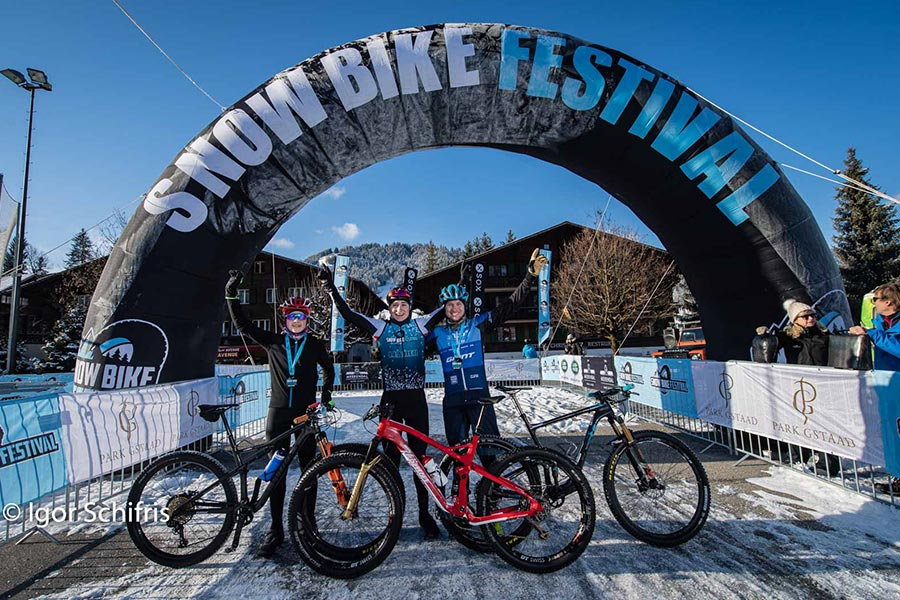 Snow Bike Festival in Gstaad 17. - 19.1.2020