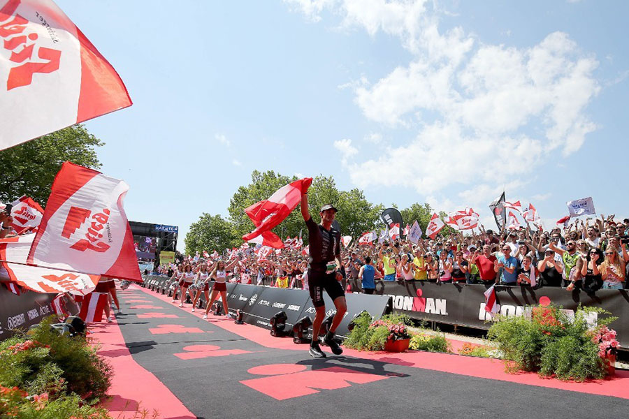 Michael Weiss siegt beim IRONMAN Austria-Kärnten 2018 (Foto: Getty Images for IRONMAN)