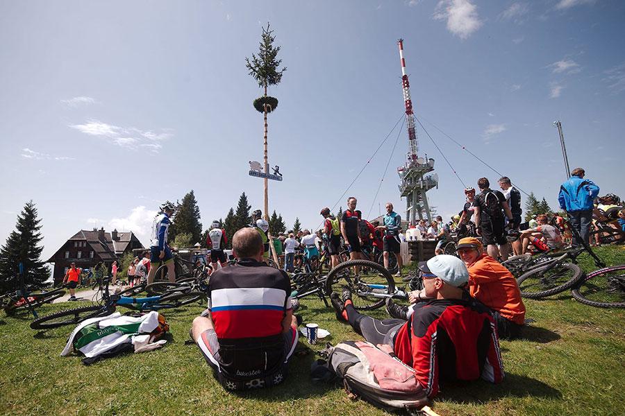 Ziel Schöckl Gipfelsturm (Foto: Markus Kreiner)