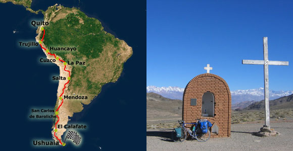 11.000 Kilometer quer durch die Anden