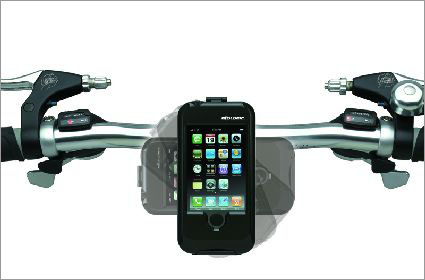 iPhone-Halterung f�rs Fahrrad
