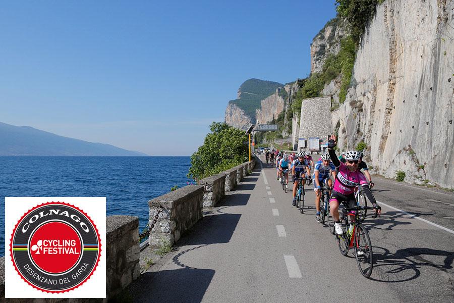 Panoramareiche und wunderschöne Strecken am Gardasee