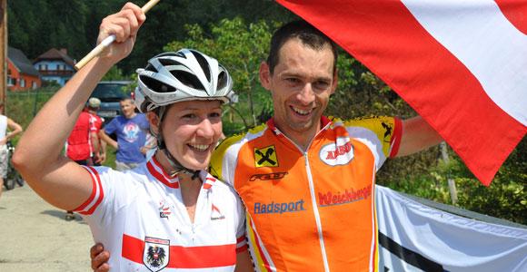 Österreichische Siege bei der UEC MTB Marathon Masters EM