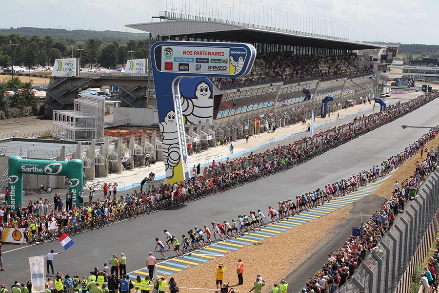 Pearl Izumi 24 Hours Cycling of Le Mans: new record of participation