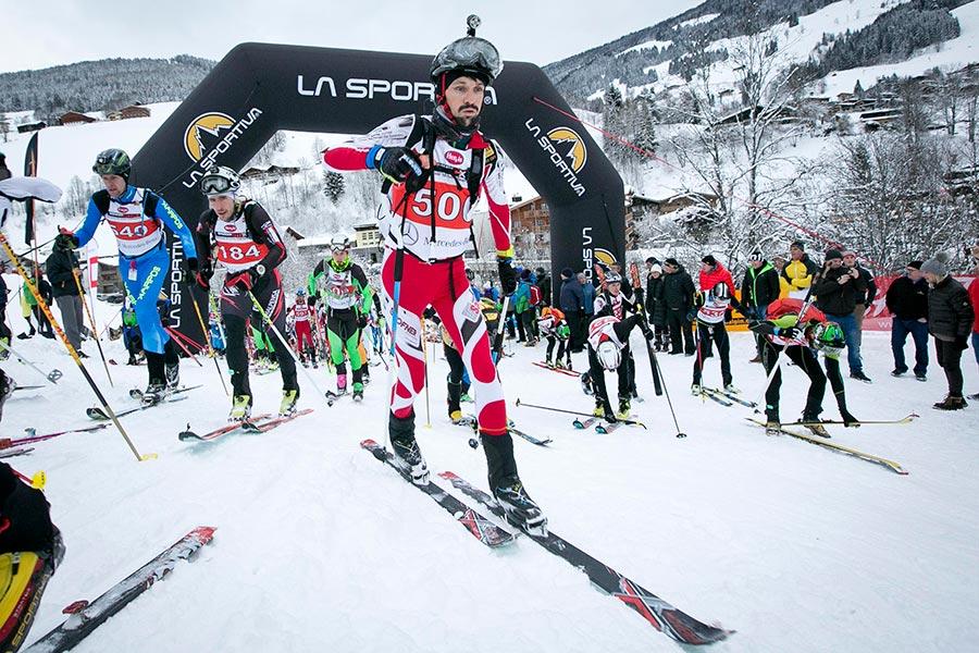 Die Teilnehmer wählen aus Schattberg Race, Tour oder Marathon (Foto: © saalbach.com)