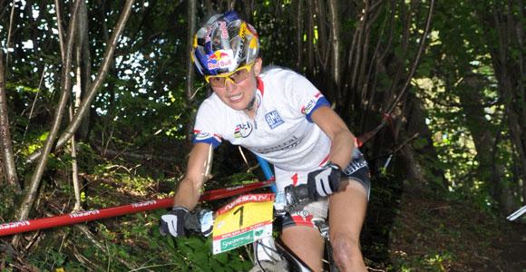 Start-Ziel-Sieg: Lisi Osl holt sich den Weltcup 2009