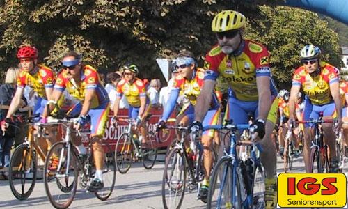 Erfolgreiche Senioren Radrennfahrer
