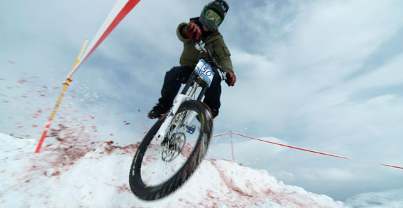 MTB Snow Downhill Sprint Krippenstein 2008