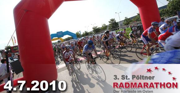 Teilnehmerrekord beim 3. St.Pöltner Radmarathon