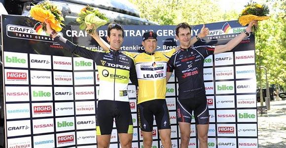 Christoph Sauser gewinnt Trans Germany