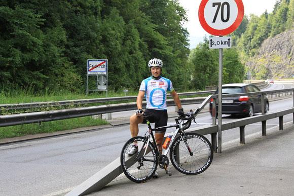 Start in Feldkirch