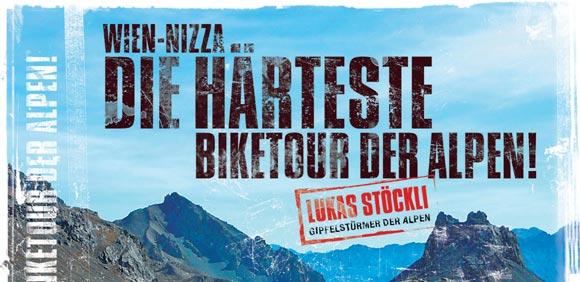 Wien-Nizza, die härteste Biketour der Alpen jetzt auf CD-Rom!