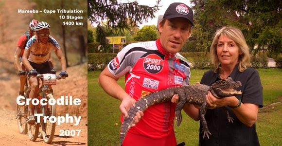 Valentin Zeller geht auf Krokodil-Jagd