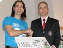 Langstreckenrad-Saisonende 2014 mit Spendenübergabe