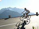 Ritt über die Alpen bei perfektem Spätsommerwetter
