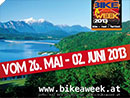 Kärntner Radsportwoche BIKE A WEEK 26. Mai bis 2. Juni 2013