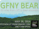 Gran Fondo New York Bear 2014