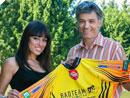 Rendevouz mit Vize-Miss-Styria beim Lannacher Radmarathon