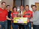 Gesamtsiegerehrung Legrand Jedermannradcup 2012