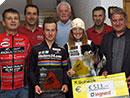 Gesamtsiegerehrung Legrand Jedermannradcup 2017