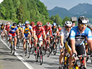 Radsportfest am Marktplatz von Mondsee