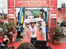 Hartes Rennen und emotionale Premierensiege beim Austria Triathlon in Podersdorf