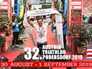 Austria Triathlon in Podersdorf 30. August bis 1. September 2019