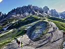 Mountainbike-Weltelite am 16. Juni 2018 beim BMW HERO Südtirol Dolomites in Gröden