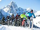 Winterfestival des Snowbikens in Gstaad