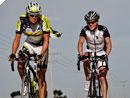 Beinhartes Duell beim Race Across America