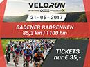 Spezialangebot für den Velo/Run Baden 2017