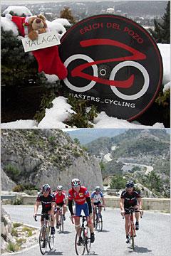 Rennradtraining in Andalusien/Malaga Frühjahr 2006