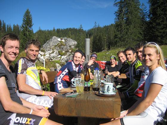Saisonausklang in Obertraun mit Challenge Cupsiegerehrung