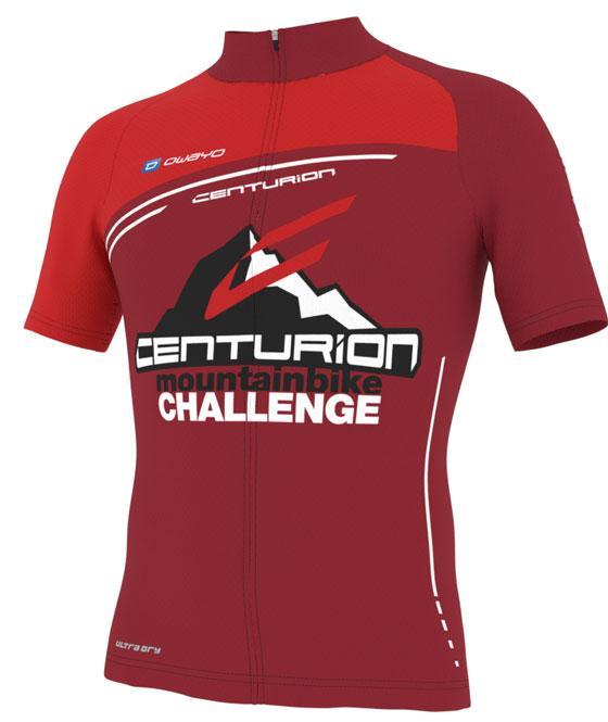 Das neue Centurion-Challenge-Finishertrikot