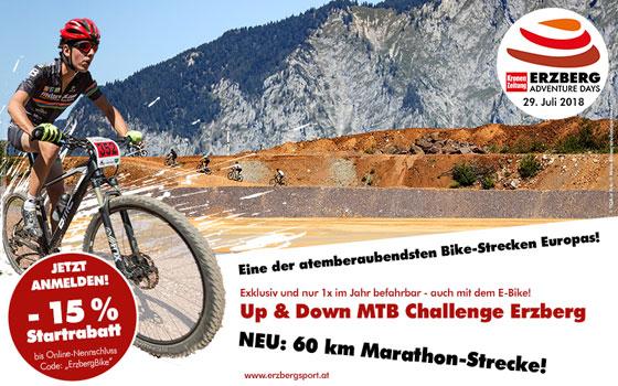 UP&DOWN MTB Challenge Erzberg