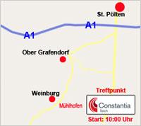 Streckenbesichtigung St.Pöltner Radmarathon am 14.05.2011