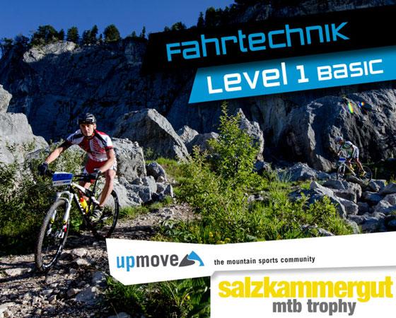 10. Juli: upmove Fahrtechniktraining am Vortag der Salzkammergut Trophy