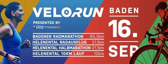 Sei dabei beim Velo/Run am 16.9.!