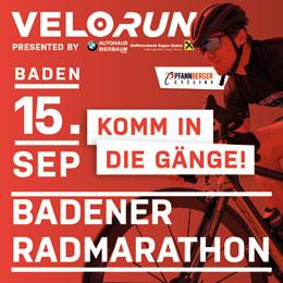 Sei dabei beim Velo/Run durch das Helenental bei Baden